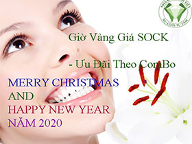 ƯU ĐÃI GIÁ SOCK NHÂN NGÀY MERRY CHRISTMAS AND HAPPY NEW YEAR 2020